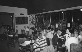 People enjoying a meal at Greenbank Vegetarian Restaurant
