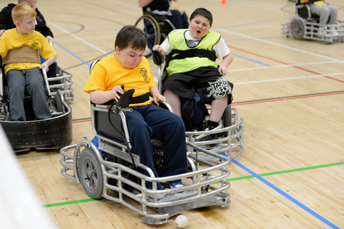 Disability sport at Greenbank Sports Academy