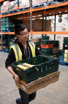 Greenbank College student on work placement