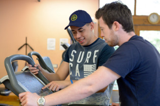 Exercise & Fitness students at Greenbank College