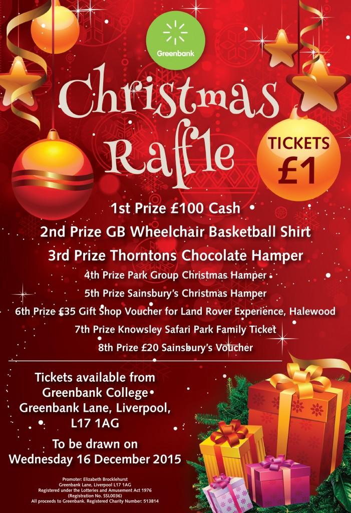 Greenbank Charity S Christmas Raffle Greenbank