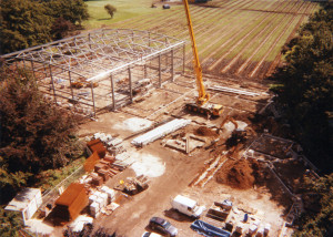 Aerial view of builing of Greenbank Sports Academy